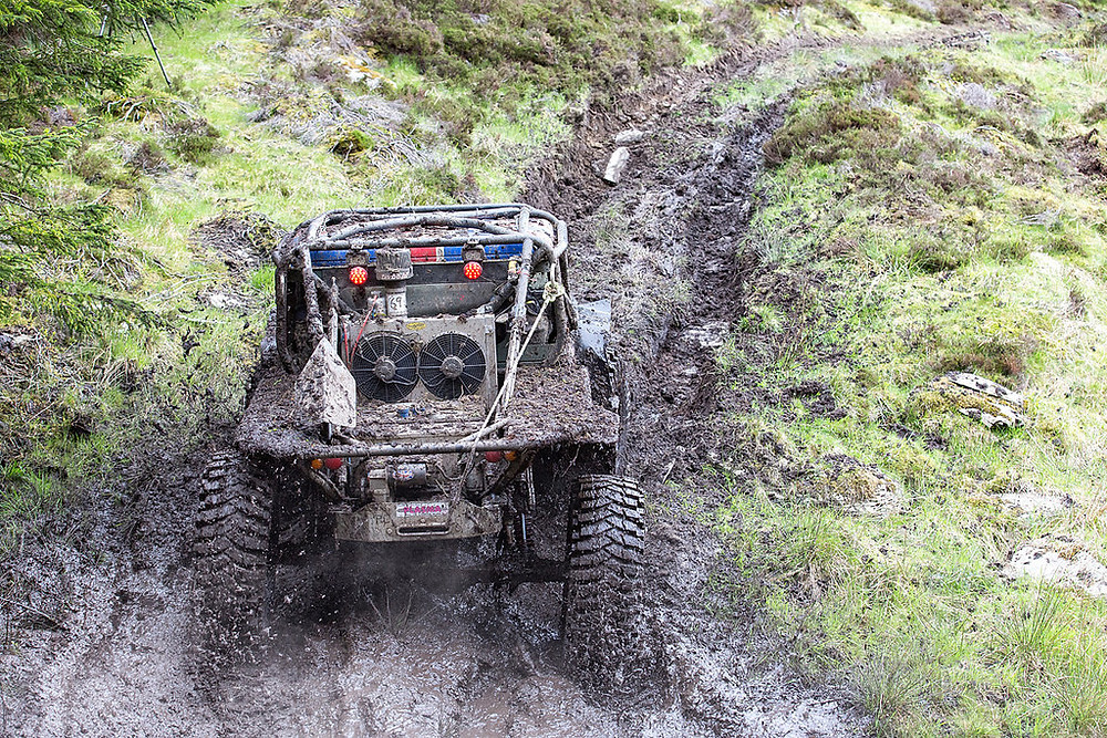 ULTRA4 Europe - Mud and Water is common in these events and components need to be 100% sealed against the ingress of dirt and debris