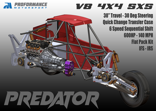 Predator Teaser - Cutaway Chassis - New