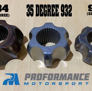 934 35 Spline CV vs 30 Spl;ine 932 EXTREME ANGLE CV vs 930 Cv Joint