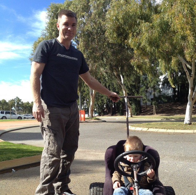 Motorsport Rally Go Kart Pram Perth