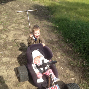 Hand Made Go kart Kids Prams