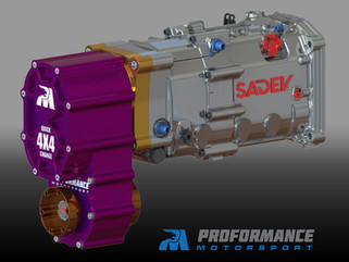 Proformance Predator 4X4 SXS Transfer Case + Sadev 6 Speed Transmission