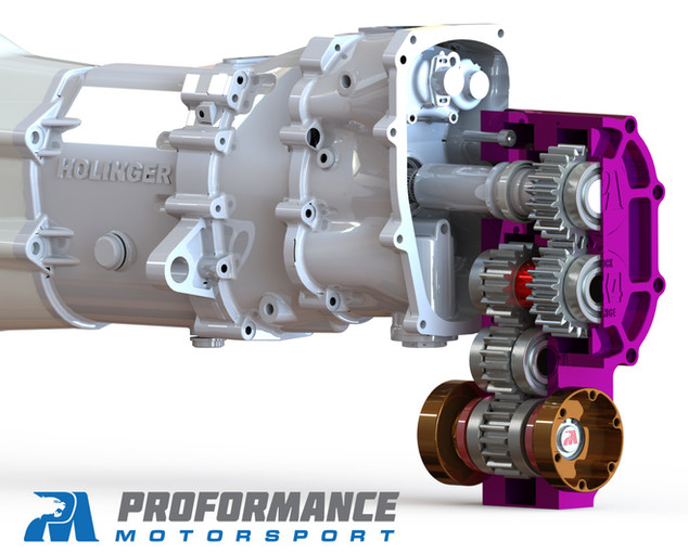 Proformance Predator SXS Quick Change Transfer Case Cutaway