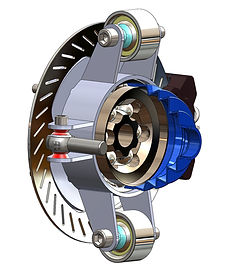 SXS X3 RZR Billet Rear or Front Hub Spindle with Internal CV Joints
