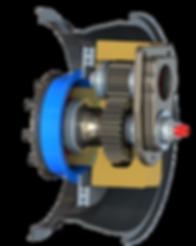 Off Road Portal Reduction Drive Portal Hub Internal Gears Increased Torque for ULTRA4 Rock Racing, Rock Bouncing, Military, Off Road Racing