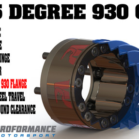 932 Extreme Angle Plunging 930 CV Joint