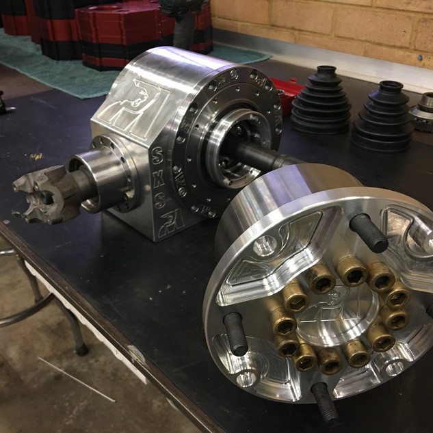 Billet SXS UTV Hub with Internal CV Joints
