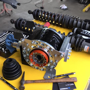 Proformance YXZ Rear Diff - Forged Gears and Internal CV Joints
