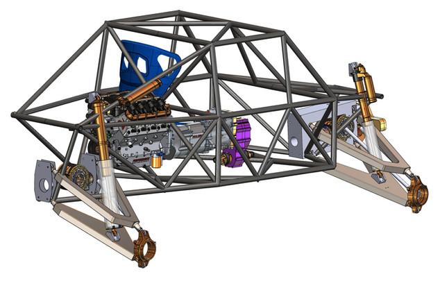 Proformance Predator AWD 4X4 SXS Buggy DIY Flat Pack Kit