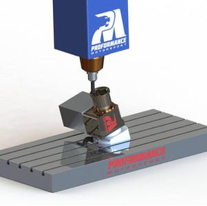 Proformance CNC Maching CV Joint - Billet SXS Upright with internal CV Joint