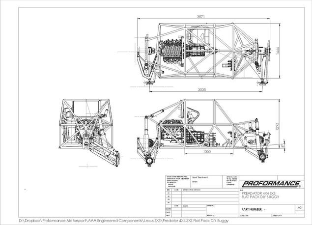 Proformance Motorsport Predator Buggy 4X4 SXS