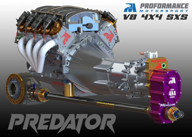 Predator V8 4X4 Buggy - Australia - Engine and Transmissio