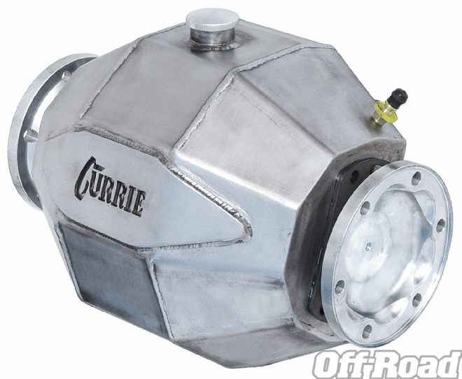Custom Made Currie Enterprised 9 Inch IFS Differential Housing - Note - CV Faces are still >14.5 Inches apart. Proformance narrow differentials are only 1.5 inch wide.