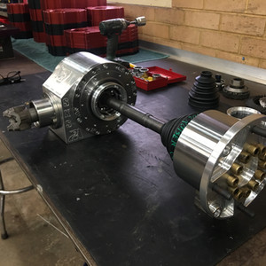 SXS Narrow DIff and Billet SXS Upright with Internal CV Joints