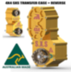 SXS Transfer Case Promotion - Australian