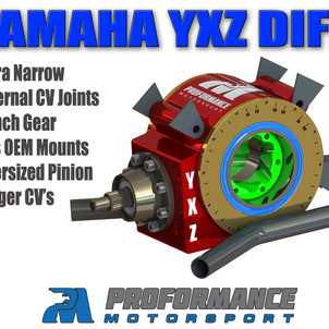 Yamaha YXZ Billet Rear Diff Upgrade