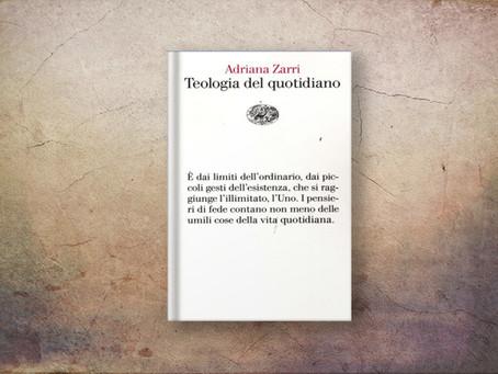 TEOLOGIA DEL QUOTIDIANO (Adriana Zarri)