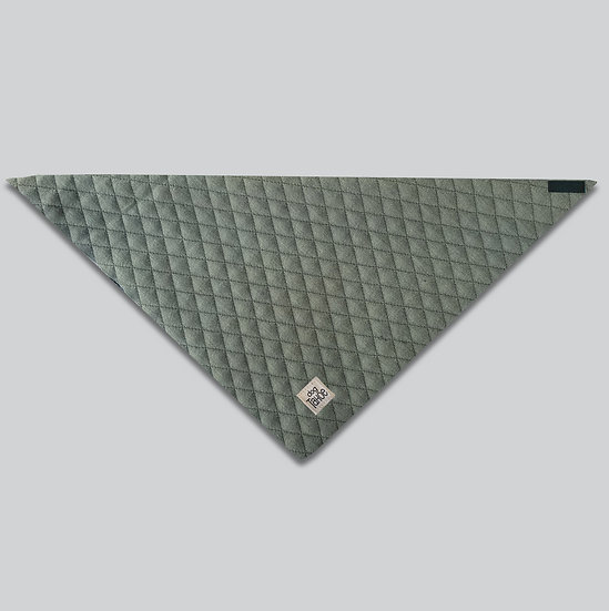 Hunter Green Quilted Bandana