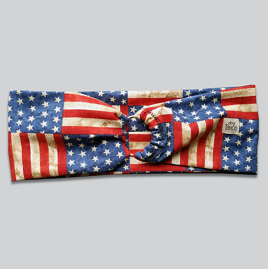Patriotic Flags O Scarf