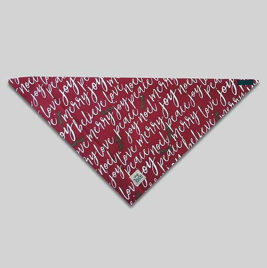 Holiday Joy Bandana