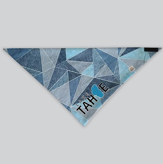 Lake Tahoe Marina Triangles Dog Bandana