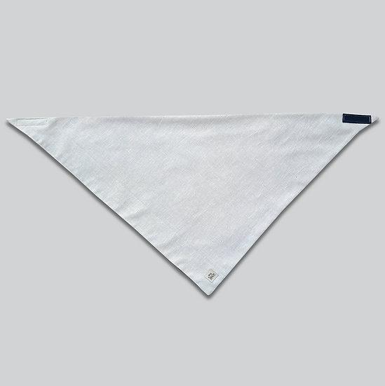 Linen Oatmeal Bandana