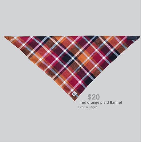 New Releases Bandana Red Orange Plaid Flannel.jpg