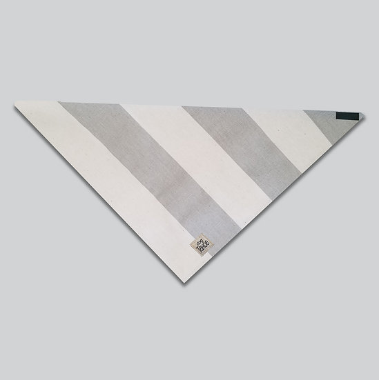 Striped Canvas Bandana