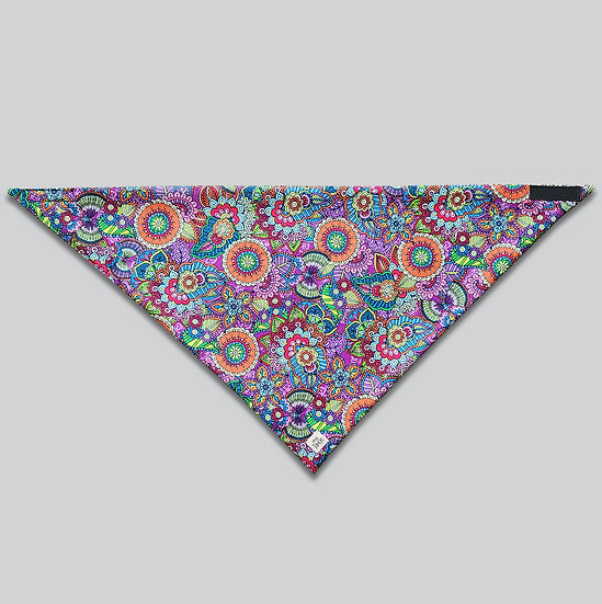 Purple Frenzy Bandana