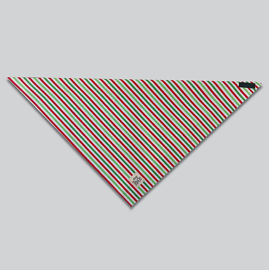 Holiday Stripes Bandana