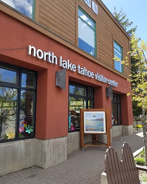 North Lake Tahoe Visitor Center in Taho City CA