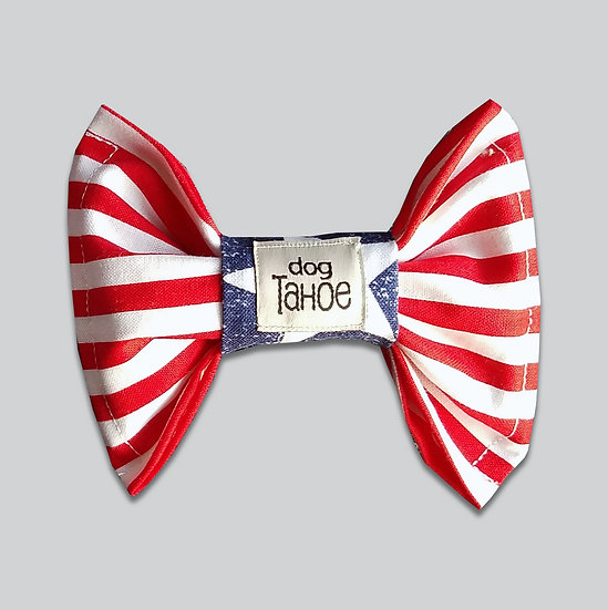 Patriotic Stripes Bow Tie