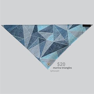 New Releases Bandana Marina Triangles.jp