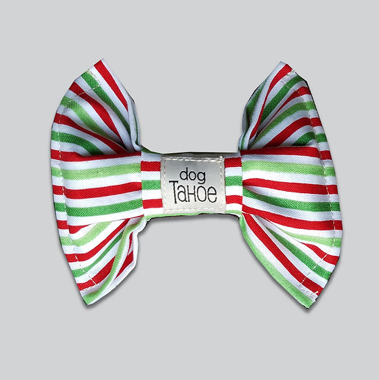 Holiday Stripes Bow Tie