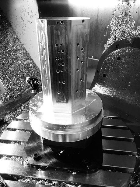 Machined Tombstone