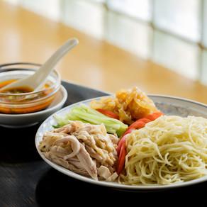 冷麺の味つけはお好みで【清香園/藤沢】