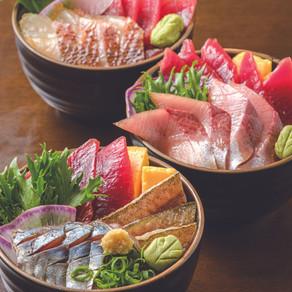 なかなか魚が減らない地魚漬け丼【丼万次郎/小田原】
