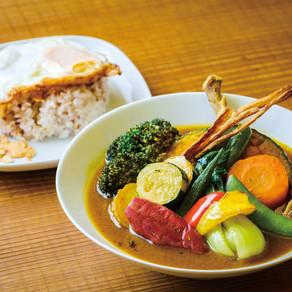 スープカレーとスパイス料理とクラフトビールと【ケムリカレー/平塚】