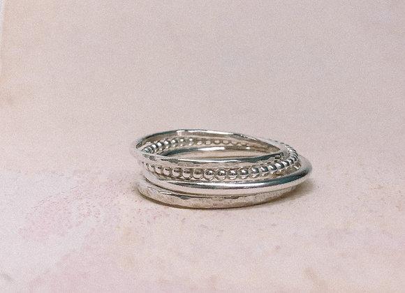 'Shui' Stacking Ring Set