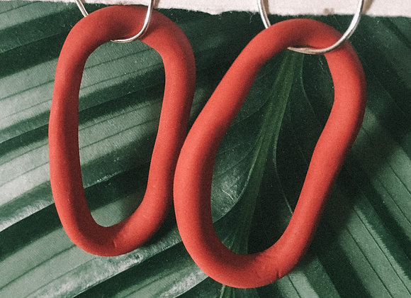 Wild and Colourful Tide Hoops (Red)