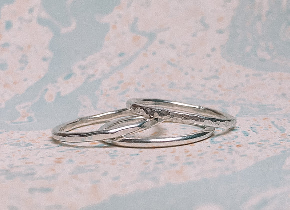 'Bo' Stacking Ring Set