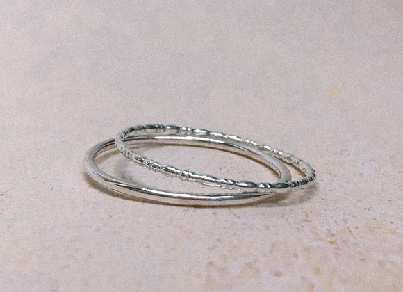 'Kai' Stacking Ring Set