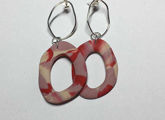 Wild Tide x Red & Pink Dangles