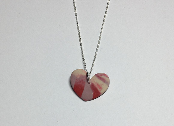 Red & Pink Heart Necklace