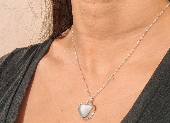 Sea glass necklace III