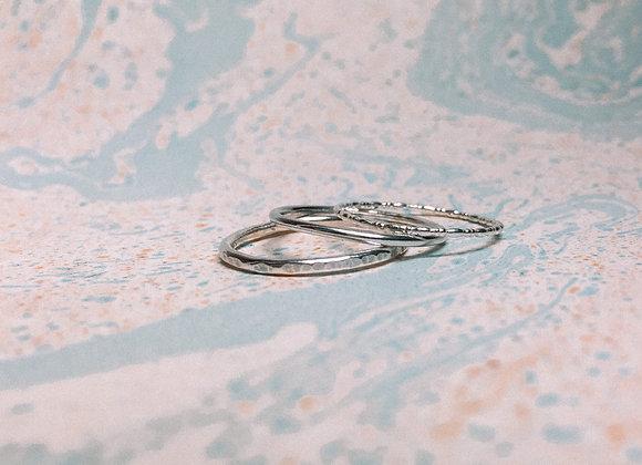 'Baiju' Stacking Ring Set