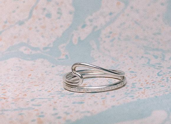 'Naia' Stacking Ring Set