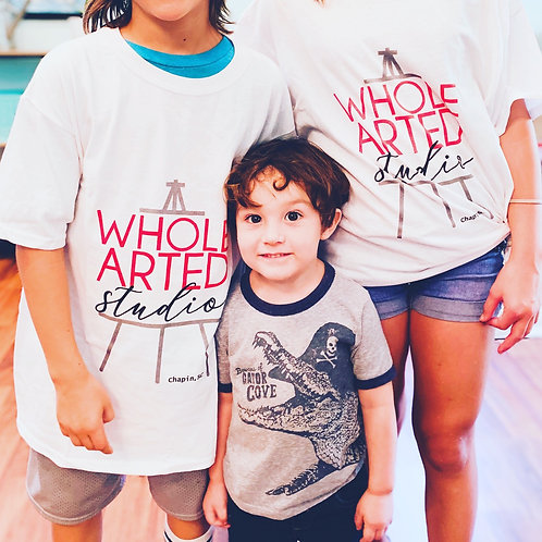 Whole Arted Studio kids T-shirt Large