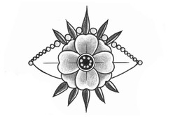 Œil fleur