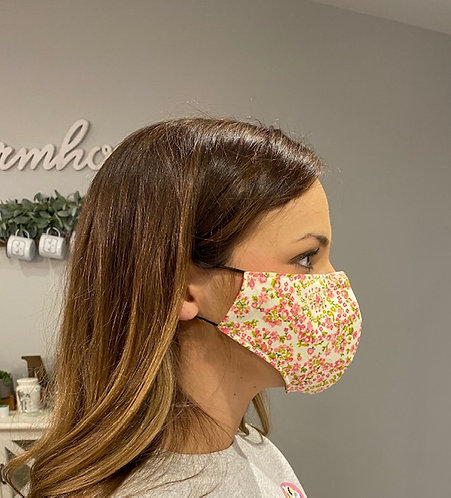 Reusable FACE MASK With Pocket For Replaceable Filter